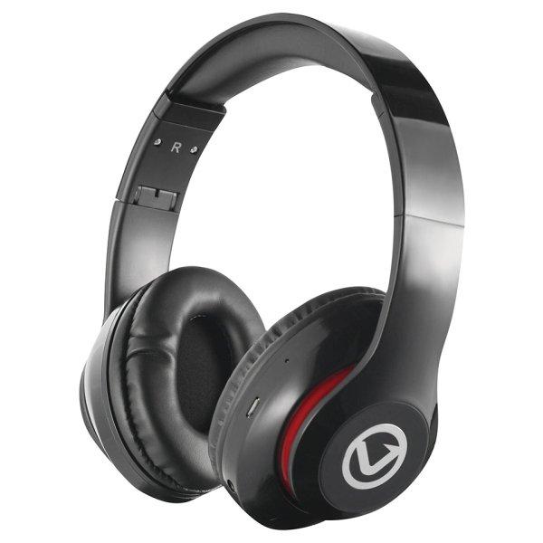 Volkano Impulse Series Black Bluetooth Headphones - VB-VH100-BLK