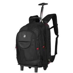 Volkano Drifter Series Trolley Backpack - VB-VL-1022-BK