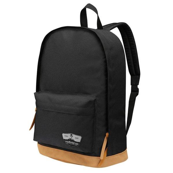 Volkano Scholar Series Black Backpack - VB-VL1013-BK