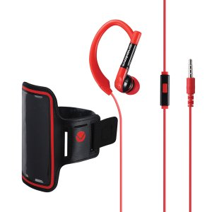 Volkano Haste Series Sports Earphones - VK-1002-BKRD