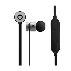 Volkano Mercury Series Black Bluetooth Earphones - VK-1006-SLBK