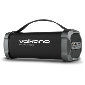 Volkano Mini Bazooka Squared Bluetooth Speaker - VK-3302-BK