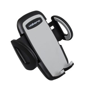 Volkano Flow Series Car Cellphone Cradle - VK-5016-BK