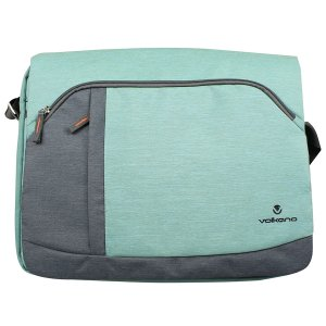 Volkano Breeze Series Laptop Messenger Bag - VK-7023-TQGR