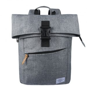 Volkano Roll Over Satchel - Grey - VK-7052-GRML